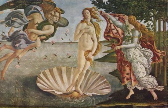 Sandro Botticelli: Vénusz születése (1485)