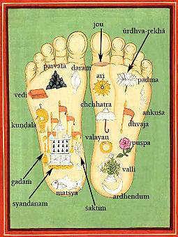 Orient-lábnyom imád.