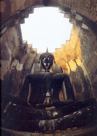Ülő Buddha_Wat Sri Saway_Sukhotay
