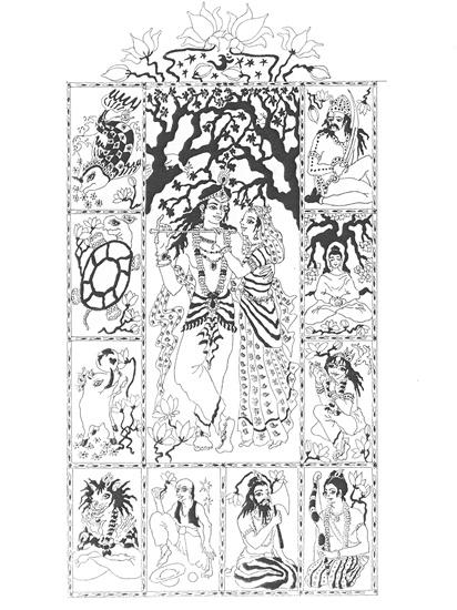 Kalandozások - Visnu inkarn - Dasavatár2